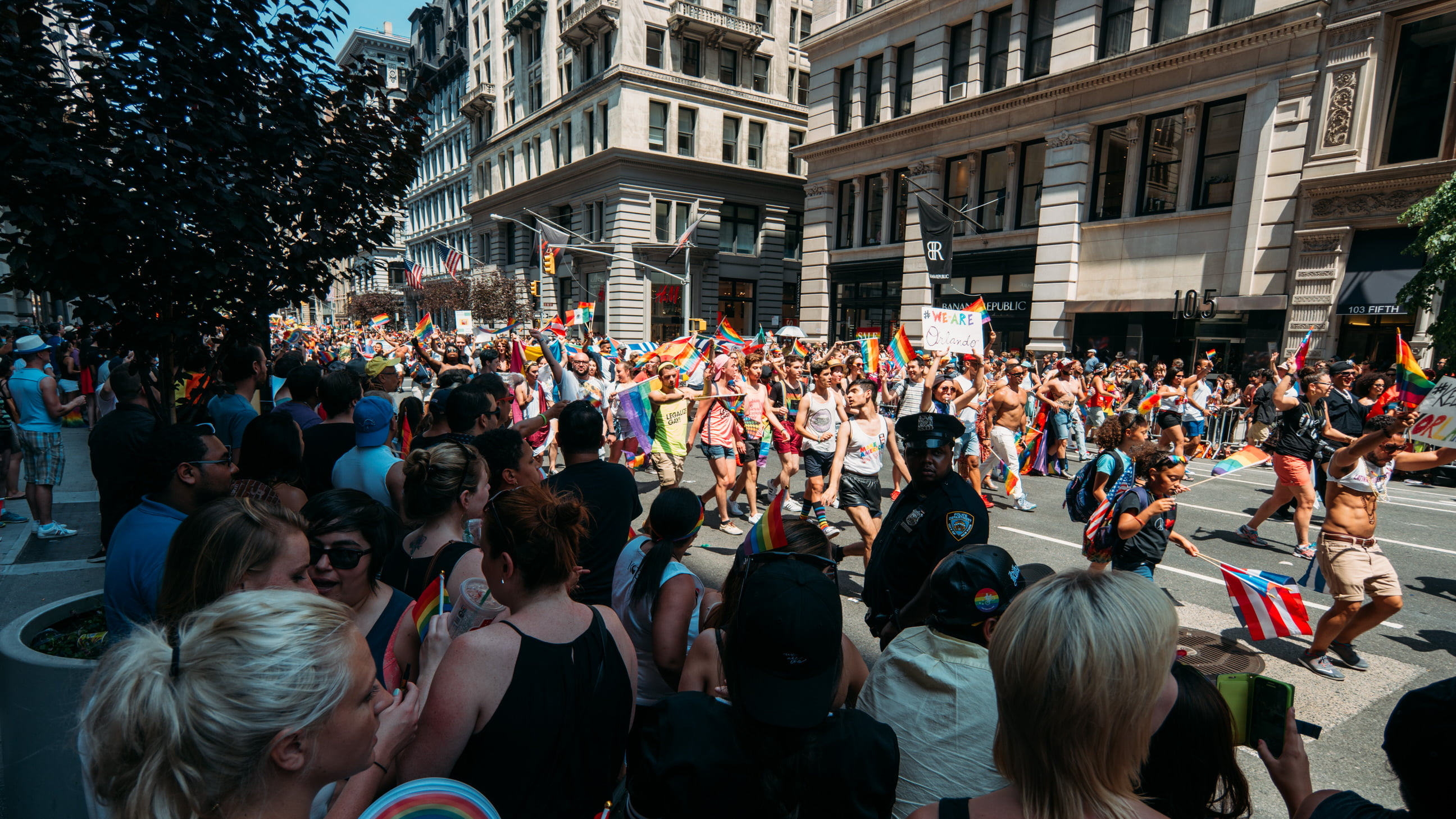 New York City's Annual LGBT Celebration and Parade